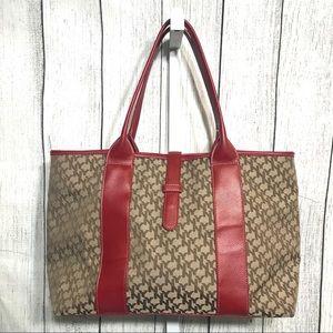 NY&C Red Leather Ware Handbag 👜